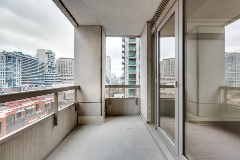 The Regency luxury condo balcony and view