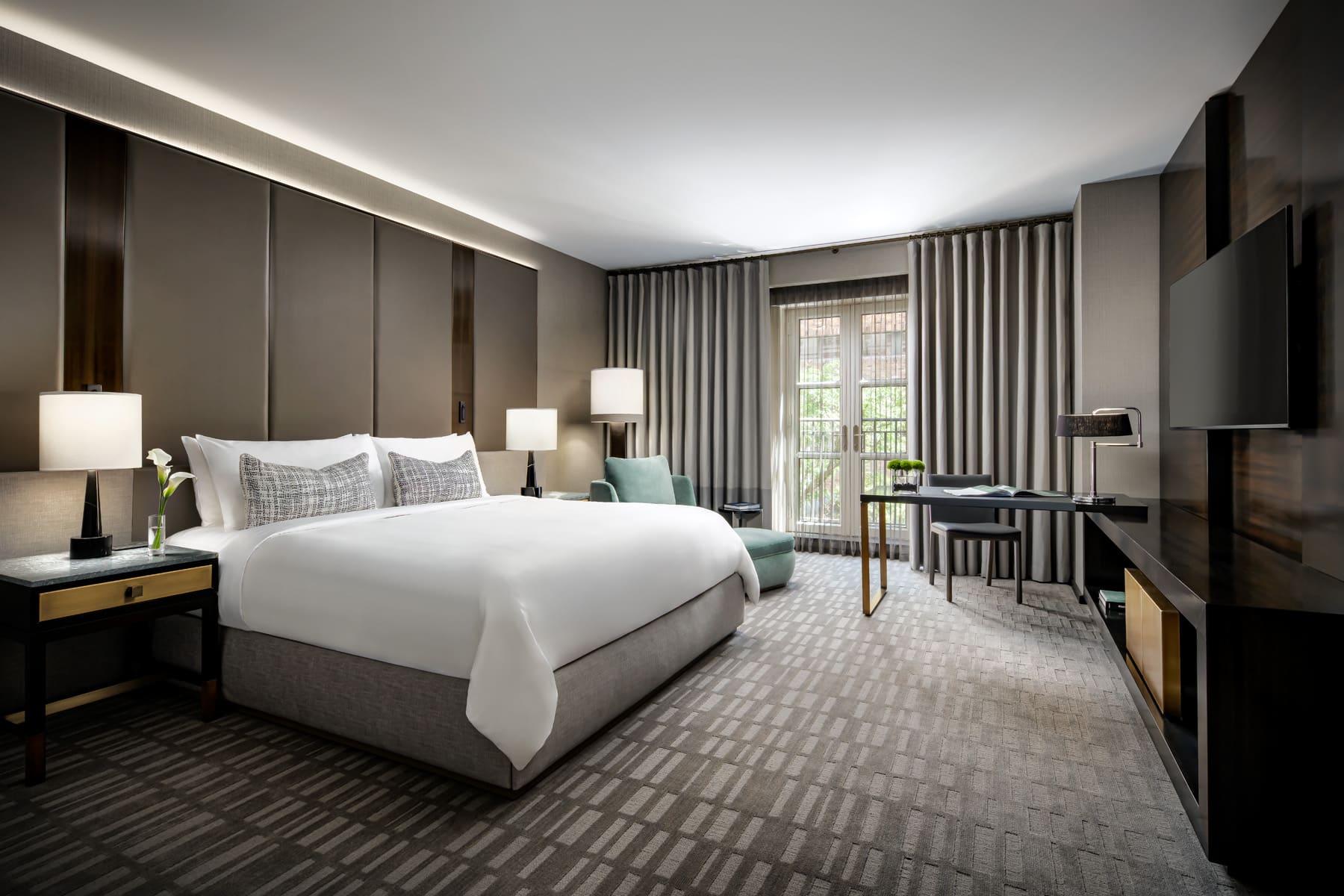 Hazelton Hotel's luxury guest suite
